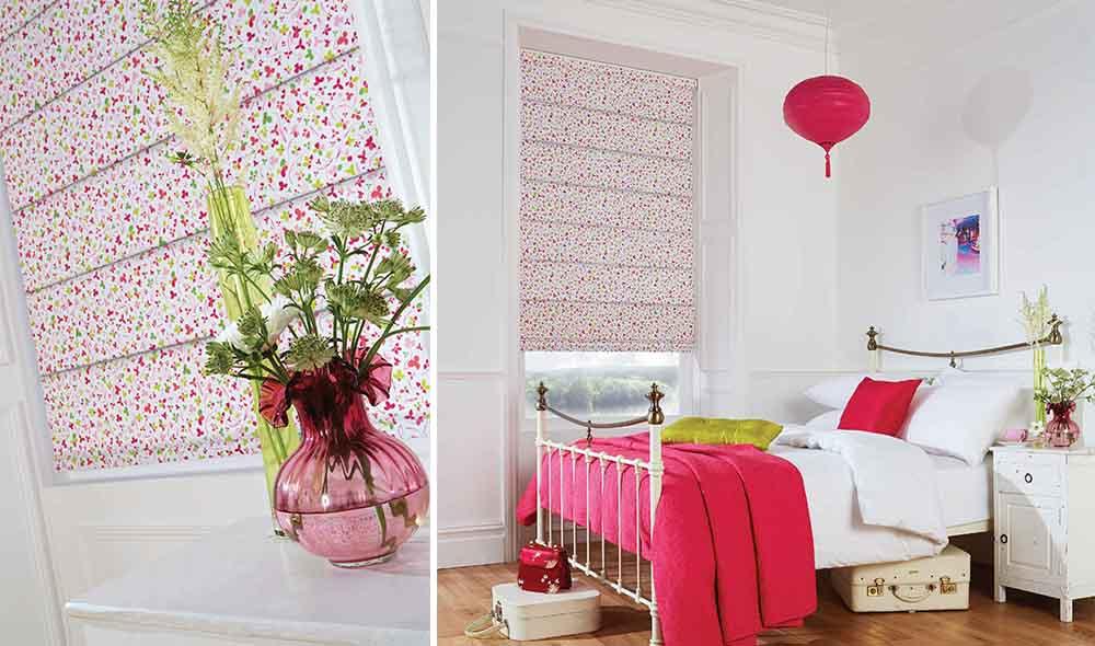 Fine floral patterns